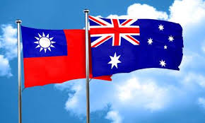 Taiwan and Australia flags as nations agree joint help over COVID-19