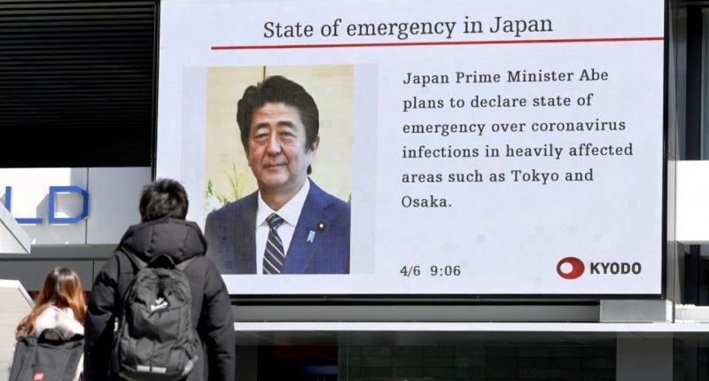 Image of Japanese PM Shinzo Abe