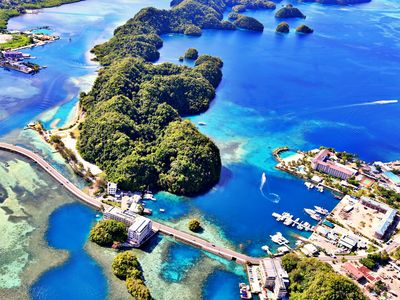 The island nation of Palau