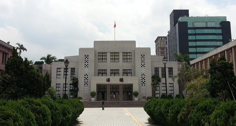 Taiwan's Legislative Yuan. C: Jiang