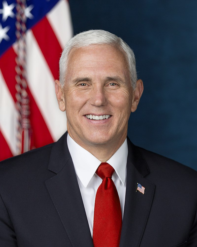 Pence event featured choir of over 100 people performing without masks
