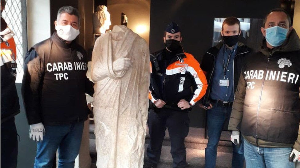 Stolen 2000 Year Old Roman Statue Recovered - In Belgium - The Taiwan Times
